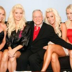 Hef and girlfriends