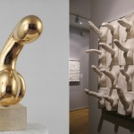art-52-Left-Constantin-Brancusi-Princesse-X-1920-Right-Jamie-McCartney-Penis-Wall