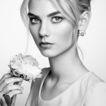 Portrait of beautiful sensual woman with elegant hairstyle