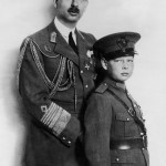 King Carol Ii Of Romania And His Son Prince Michael Around 1930-1931